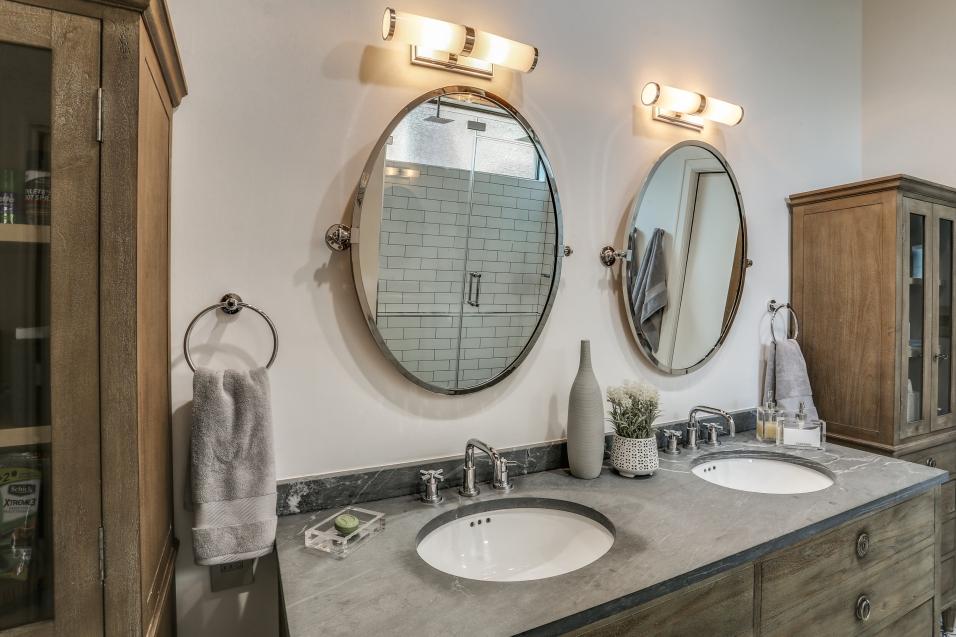 Modern Rustic Master Bathroom Renovation